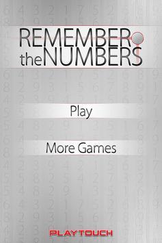 Remember the Numbers screenshot 4