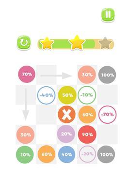 Reach 100 : Colors Game apk screenshot