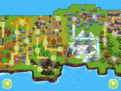 Mini guardians: castle defense (retro RPG game) apk screenshot