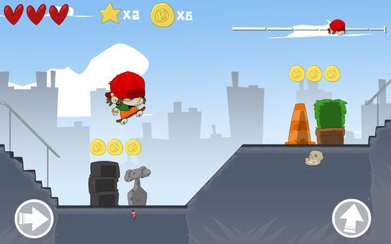 Skater Kid apk screenshot