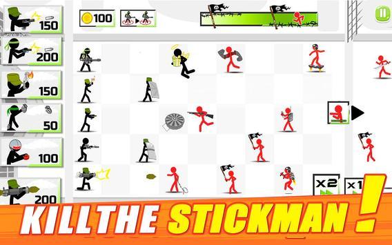 Stickman Army : The Defenders apk screenshot