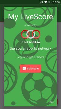 My LiveScore - Social Basket poster