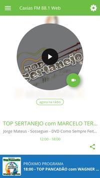 Caxias FM 88.1 Web poster