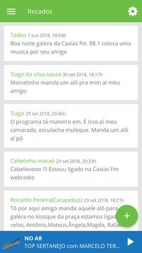 Caxias FM 88.1 Web screenshot 4