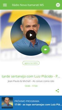 Rádio Nova Itamarati MS poster