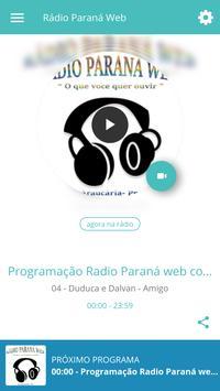 Rádio Paraná Web poster