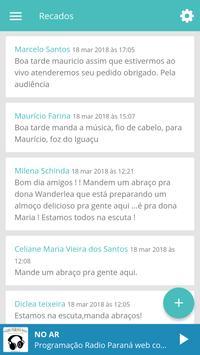 Rádio Paraná Web screenshot 4