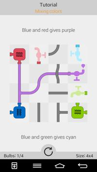 Water Connect Logic Game apk screenshot