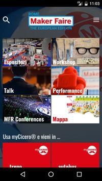Maker Faire Rome poster