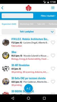 Maker Faire Rome apk screenshot