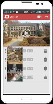 Micro movie(Road movie camera) apk screenshot