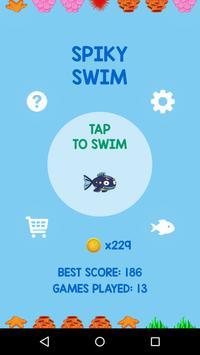 Spiky Swim poster
