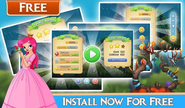 Jungle Princess Run Adventure apk screenshot