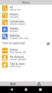 bGEO GPS Navigation apk screenshot