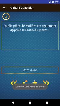 Culture Générale - 15000 Questions et Réponses apk screenshot