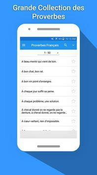 Proverbes Français 2017 apk screenshot