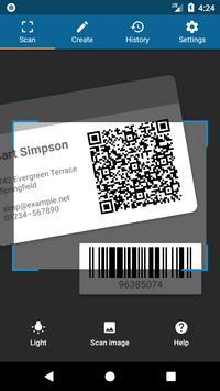 QRbot: escáner QR y lector de código de barras Poster