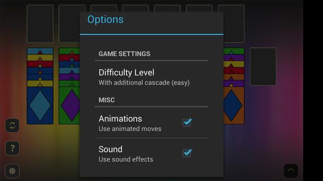 Spectrum Solitaire apk screenshot