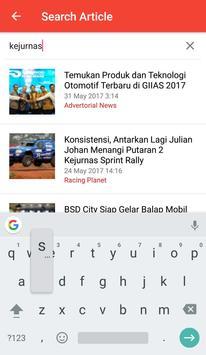 Racing4 Mobile screenshot 3