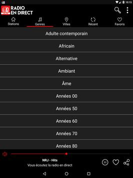Radio en direct France screenshot 11