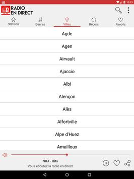 Radio en direct France screenshot 12