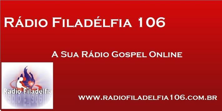 Rádio Filadélfia 106 poster
