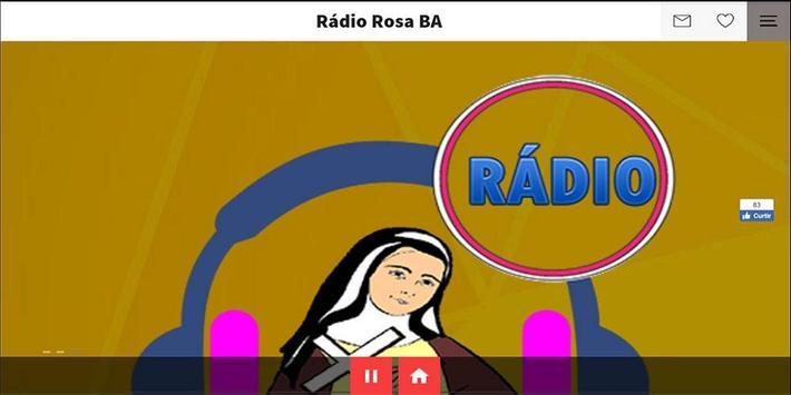 Rádio Rosa BA apk screenshot