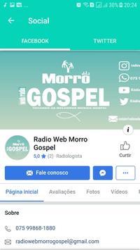 Rádio Morro Gospel screenshot 2