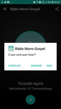 Rádio Morro Gospel screenshot 4