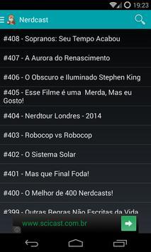 Nerdcast screenshot 1
