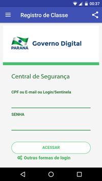 Registro de Classe Online - SEEDPR poster