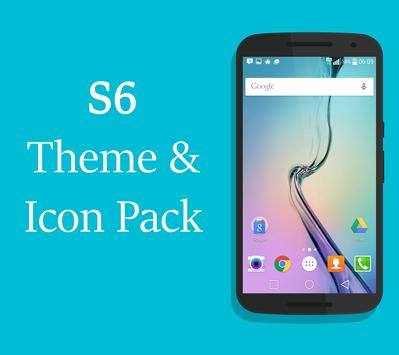 S6 Launcher & Theme Icons Pack poster