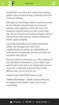 ZULAFOOD screenshot 3