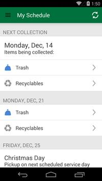 Irvine Recycles! apk screenshot