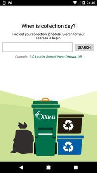 Ottawa Collection Calendar screenshot 2