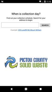 Pictou County Solid Waste poster