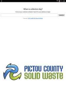 Pictou County Solid Waste apk screenshot