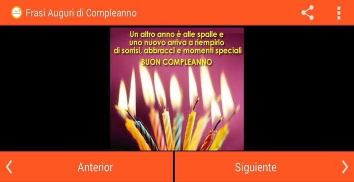 Frasi Auguri Di Compleanno для андроид скачать Apk