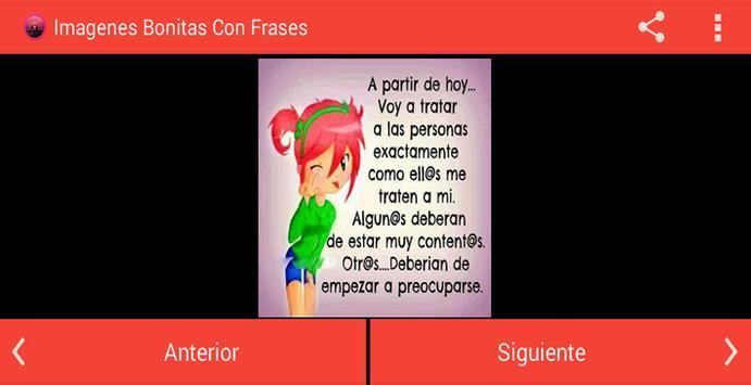 Imagenes Bonitas Con Frases apk screenshot
