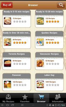 Canadian Cuisine screenshot 2