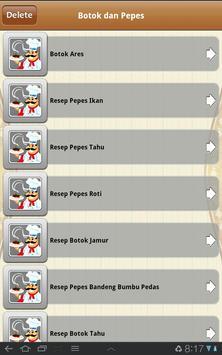 Masakan Indonesia screenshot 3