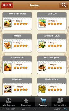 Masakan Indonesia screenshot 1
