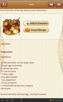 Philippine cuisine screenshot 5