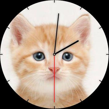 Kitten Watch Face poster