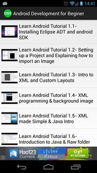 OSS Learning on Demand apk screenshot