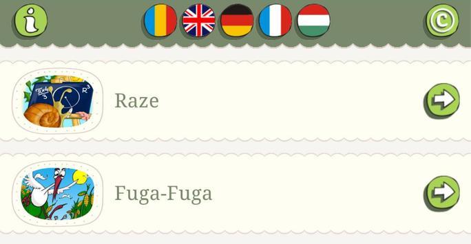 Poetry in five languages apk screenshot