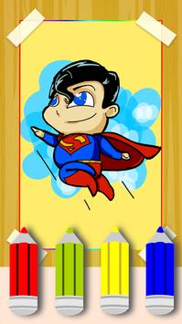 How To Draw Superman Step By Step poster