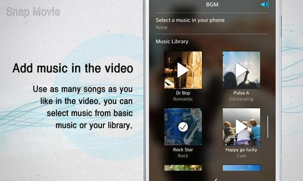 SnapMovie (road movie maker) apk screenshot