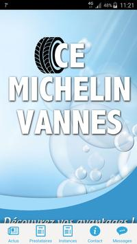 CE MICHELIN VANNES poster