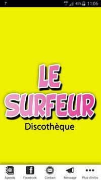 Le Surfeur poster